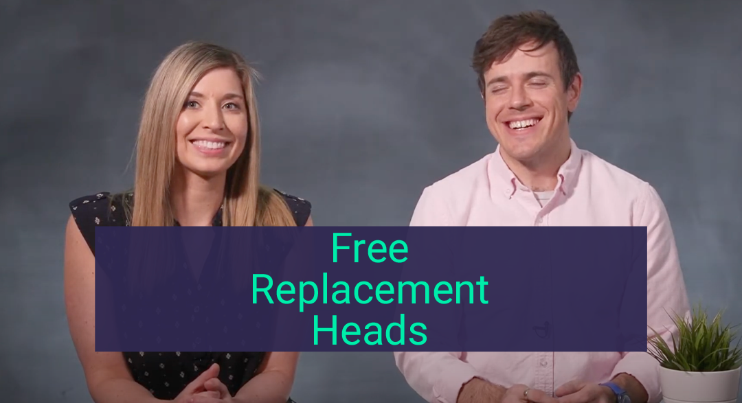 free replacement heads